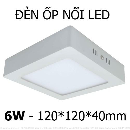 LED ốp nổi vuông 3/6/12/18/25/48W