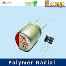 CZ 16V 2200uF Polymer Radial Electrolytic Capacitor