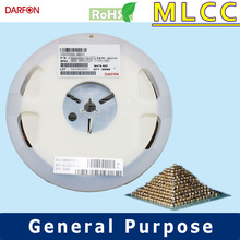 NPO 0201 100pF 16V capacitor