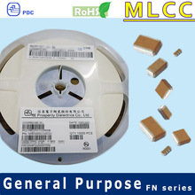 NPO 0201 10V to 50V 560pF Electronic Components Ceramic Capacitor