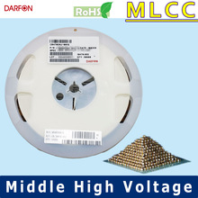 NPO 0402 220pF Middle-High Voltage Capacitor
