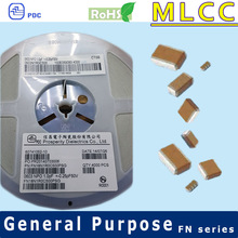 NPO 0603 Electronics Parts Lead Free capacitor