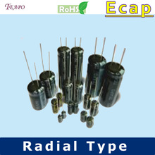 TH 250vac 100uf Aluminum Electrolytic Capacitor