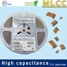 X5R 0805 6.3V to 630V 100.0uF passive components MLCC