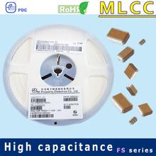 X6S 0201 1uF 4V smd ceramic capacitor
