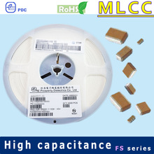 X6S 1210 4V to 5V 100uF multilayer ceramic capacitor