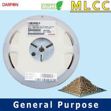 X7R 0201 50V 10uF ceramic capacitor