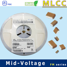 X7R 0805 100V to 630V 470nF chip ceramic capacitors