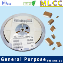 Y5V 0402 0.01uF PDC multilayer ceramic capacitors