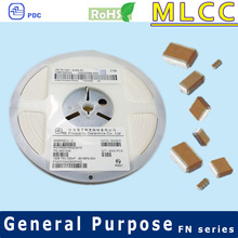 Y5V 1206 10V to 50V 0.68uF Multilayer Ceramic Capacitor