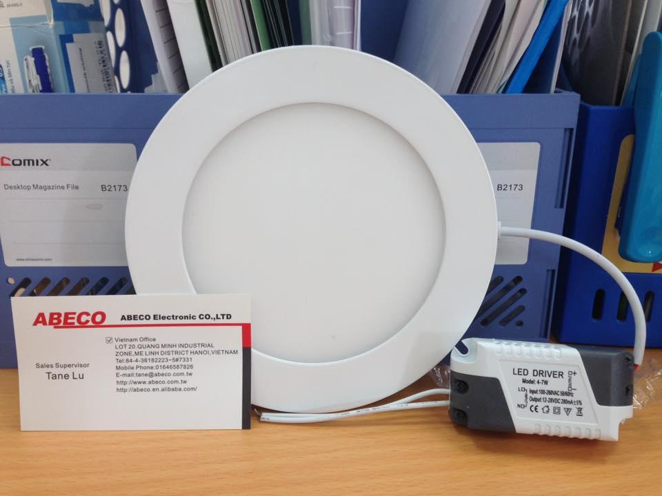LED âm trần tròn siêu mỏng