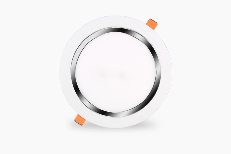 LED âm trần tròn siêu mỏng viền trắng